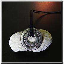 """Irish Necklace - Ogham """"Circle of Life"""" Pendant"""