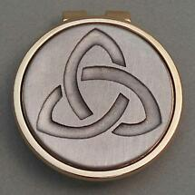 Trinity Knot Money Clip