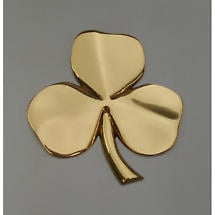 Shamrock Gold-Plated Wall Hanging