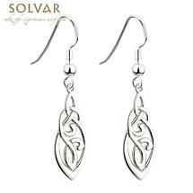 Celtic Earrings - Sterling Silver Celtic Trinity Knot Earrings