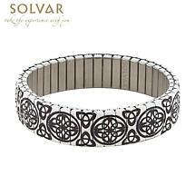 Irish Bracelet - Celtic & Trinity Knot Stretch Bracelet