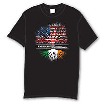 Irish T-Shirt - American Grown with Irish Roots