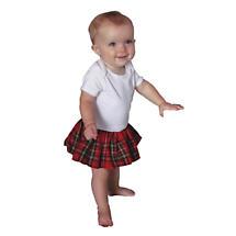 Irish Baby Gifts - Tartan Kilt Romper