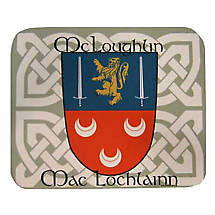 Personalized Irish Coat of Arms Mouse Pad