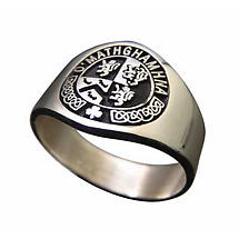 Personalized Irish Coat of Arms Ring