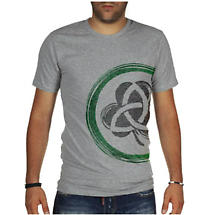 Irish T-Shirt - Shamrock & Trinity Knot Modern Fit T-Shirt