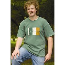 Irish T-Shirt - Ireland Flag T-Shirt