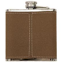 Irish Leather Flask
