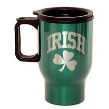 Irish Travel Mug with Handle