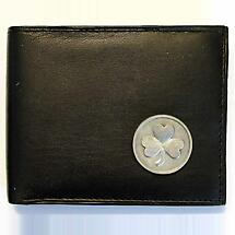 Irish Wallet - Shamrock Leather Wallet