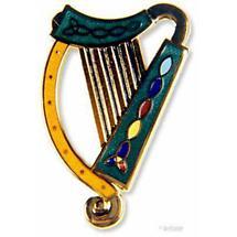 Harp Brooch