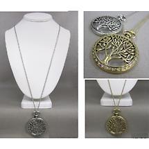 Irish Necklace - Tree of Life Long Necklace
