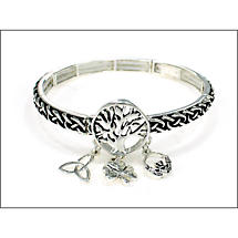 Irish Bracelet - Tree of Life Celtic Bracelet