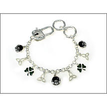 Irish Bracelet - Enamel Irish Charm Bracelet