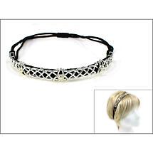 Irish Trinity Knot and Pearl Headband