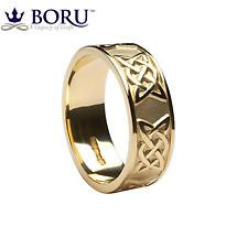 Irish Ring - Men's Lovers Knot Wedding Band
