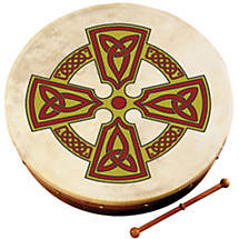"Bodhran Drum - 8"" Kilkenny Cross"