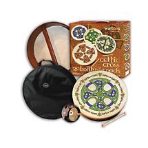 """Bodhran Drum - 18"""" Brosna Cross Bodhran Package"""