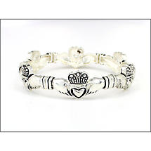 Claddagh Stretch Bracelet