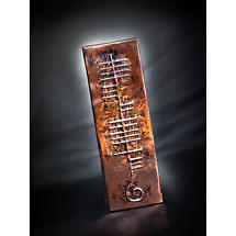 Copper Personalized Ogham Name Wall Plaque