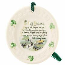 Irish Christmas - Belleek Irish Blessing Ornament