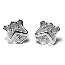 Sterling Silver Family Crest Cufflinks