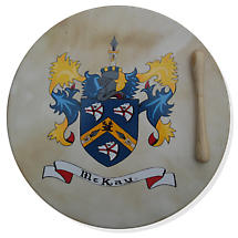 Irish Coat of Arms Bodhran - 16 inch