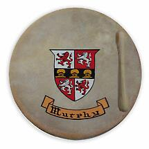 Irish Coat of Arms Bodhran - 8 inch
