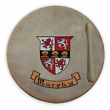 Irish Coat of Arms Bodhran - 8 inch