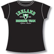Irish T-Shirt - Ladies Ireland Drinking Team