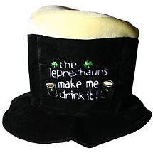 The Leprechauns Made Me Drink It Fun Hat