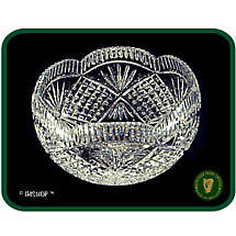 Irish Crystal - Heritage Crystal 8 inch Bowl