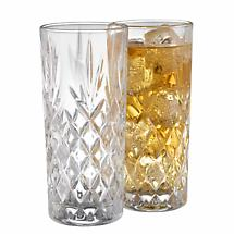 Galway Crystal Renmore HiBall Glass Pair