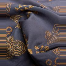 Irish Clothing | Newgrange Celtic Pattern 100% Silk Scarf
