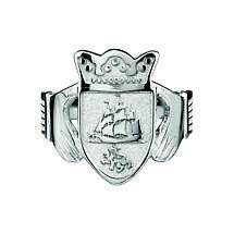 Irish Coat of Arms Jewelry | Ladies Claddagh Ring