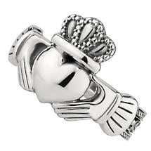 Mens Irish Jewelry | Sterling Silver Celtic Claddagh Ring