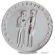 Sterling Silver Irish Wedding Coin