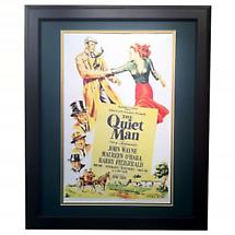 """The Quiet Man"" - Matted and Framed Print"
