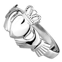 Claddagh Ring - Ladies Sterling Silver Claddagh