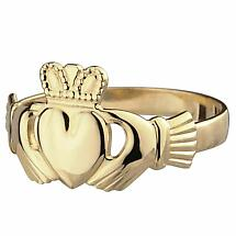 Claddagh Ring - Men's 10k Gold Claddagh
