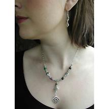 Celtic Necklace - Sacred Numbers Necklace