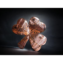 Copper Shamrock Wall Plaque