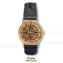 Irish Watch - Tristan Mens Celtic Knot Gold Plated Watch