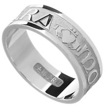 "Irish Rings - Men's Gold Mo Anam Cara ""My Soul Mate"" Ring"
