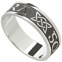Irish Ring - Men's Gra Go Deo 'Love Forever' Irish Wedding Ring