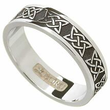 Irish Ring - Ladies Lovers Knot Wedding Band