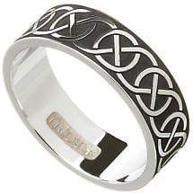 Celtic Ring - Men's Celtic Wedding Ring