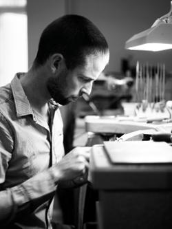 David McCaul - Designer of the Fusion Contour Collection by Solvar Jewlery
