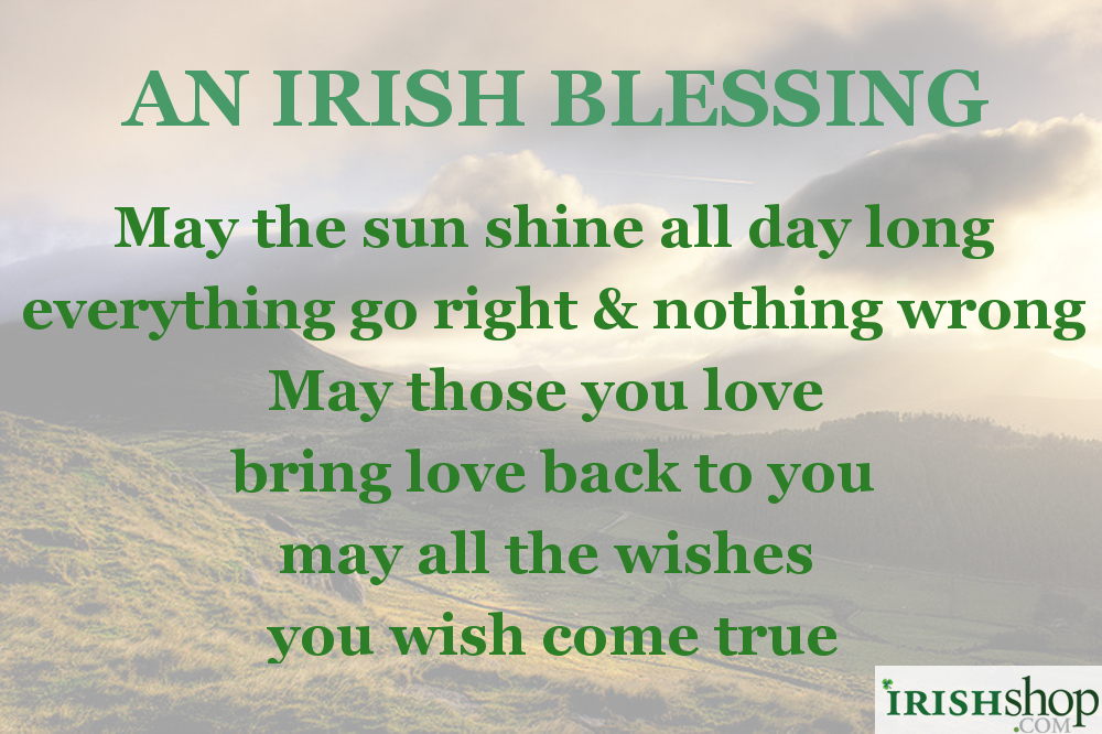 Everything Go Right Nothing Wrong May Those You Love Bring Back To And All The Wishes Wish Come True Irish Christmas Blessing