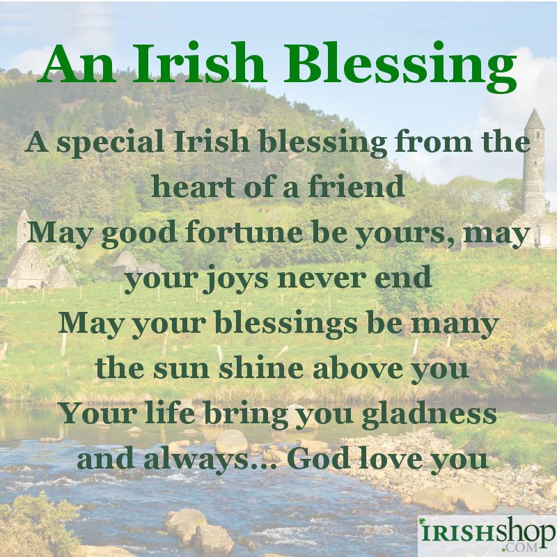 Irish Blessings At IrishShop.com